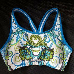 ATHLETA Truckee Tri Ready To Run Bikini Sport Bra